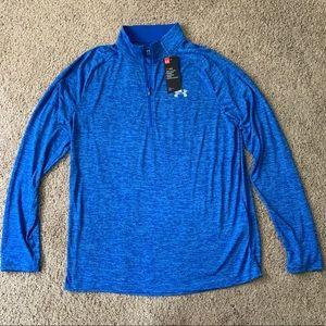 NEW Under Armour Quarter-zip L Athletic Shirt